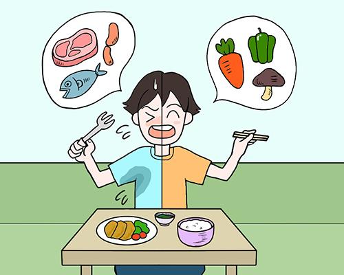 食事で改善